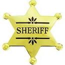 Eagle Emblems P40075 Bdg-Sheriff     (Gld) (2-1/2
