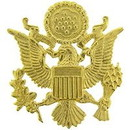 Eagle Emblems P40144 Bdg-Army, Officer, Gold (1-3/4