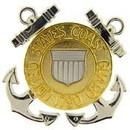 Eagle Emblems P40158 Bdg-Uscg, Enlisted (2