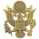 Eagle Emblems P40232 Bdg-Army, Officer, Antique (Close Out) (2-1/2