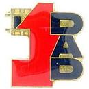 Eagle Emblems P60258 Pin-Hol, Dad, #1 (1
