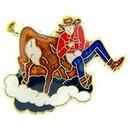 Eagle Emblems P60275 Pin-Rodeo, Roping (1