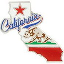 Eagle Emblems P60451 Pin-California (Map) (1
