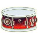 Eagle Emblems P61071 Pin-Music, Drum (1