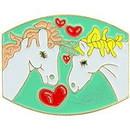 Eagle Emblems P61937 Pin-Unicorn'S, Hearts (1