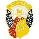 Eagle Emblems P62429 Pin-Army, 504Th A/B Inf. (1