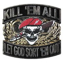 Eagle Emblems P62555 Pin-Kill'Em All, Wing (1