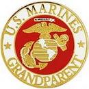 Eagle Emblems P62560 Pin-Usmc Logo, Grandparent (1