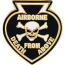 Eagle Emblems P62584 Pin-Death From Above (1