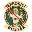 Eagle Emblems P62597 Pin-Terrorist Buster (1