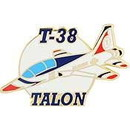 Eagle Emblems P62757 Pin-T/B, T-038 Talon 1974-1981 (1-1/2