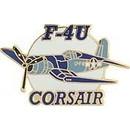 Eagle Emblems P62807 Pin-Apl, F-004U Corsair (1-3/8