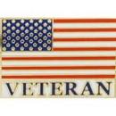 Eagle Emblems P62884 Pin-Usa Flag, Veteran (1