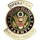 Eagle Emblems P62964 Pin-Endur.Freed, Army Logo (1-1/16