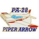 Eagle Emblems P62999 Pin-Apl, Piper Arrow (1-1/2