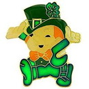 Eagle Emblems P63627 Pin-Hol, Saint Pat, Leprec (1