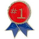Eagle Emblems P63715 Pin-Ribbon, #1 (1