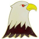 Eagle Emblems P63815 Pin-Eagle, Head, Right (1