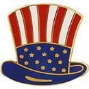 Eagle Emblems P63898 Pin-Usa, Uncle Sam'S Hat (1