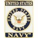 Eagle Emblems P64020 Pin-Usn Logo, Rectangle (1-1/8