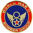 Eagle Emblems P64023 Pin-Wwii, Bomber Group, 8Th (1