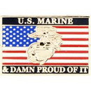 Eagle Emblems P64051 Pin-Usmc, Damn Proud Of It (1-1/16