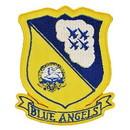 Eagle Emblems PM0024 Patch-Usn, Blue Angels (3-3/8