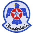 Eagle Emblems PM0027 Patch-Usaf, Thunderbirds (3-3/8