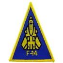 Eagle Emblems PM0037 Patch-Usn, F-14 (3-5/8