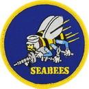Eagle Emblems PM0043 Patch-Usn, Seabees, Gold (3