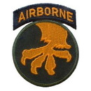 Eagle Emblems PM0080 Patch-Army, 017Th A/B Div. (3