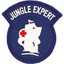 Eagle Emblems PM0081 Patch-Army, Jungle Expert (3-1/16