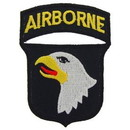Eagle Emblems PM0097 Patch-Army, 101St A/B (3-1/4