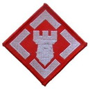 Eagle Emblems PM0144 Patch-Army, 020Th Eng.Bde. (3