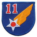 Eagle Emblems PM0154 Patch-Usaf, 011Th (3