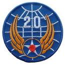 Eagle Emblems PM0158 Patch-Usaf, 020Th (3
