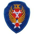 Eagle Emblems PM0171 Patch-Usaf, 009Th Eng. (3