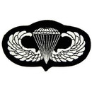 Eagle Emblems PM0176 Patch-Army, Para, Wings (4-1/8