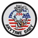 Eagle Emblems PM0185 Patch-Usn, Tomcat, Anytime (3