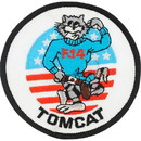 Eagle Emblems PM0204 Patch-Usn, Tomcat, F-14 (Rnd) (3
