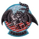 Eagle Emblems PM0205 Patch-Usn, Tomcat, A+ (3-1/2