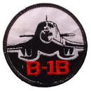 Eagle Emblems PM0214 Patch-Usaf, B-01B Bomber (3