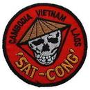 Eagle Emblems PM0244 Patch-Vietnam, Sat Cong (3
