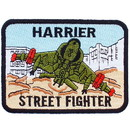 Eagle Emblems PM0251 Patch-Usmc, Harrier Street (3-1/4