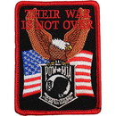 Eagle Emblems PM0257 Patch-Pow*Mia, Their War (3-1/2