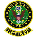 Eagle Emblems PM0260 Patch-Army Symbol, Retired (3