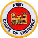 Eagle Emblems PM0265 Patch-Army, Corps Of Eng. (3