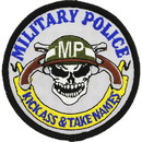 Eagle Emblems PM0273 Patch-Military Police (3