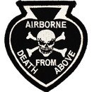 Eagle Emblems PM0276 Patch-Death From Above (3-1/8