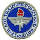Eagle Emblems PM0289 Patch-Usaf, Air Train.Cmd        Instructor (3